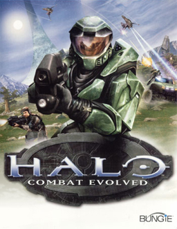 """Halo - Combat Evolved (XBox version - box art)"". Licensed under Fair use via Wikipedia - https://en.wikipedia.org/wiki/File:Halo_-_Combat_Evolved_(XBox_version_-_box_art).jpg#/media/File:Halo_-_Combat_Evolved_(XBox_version_-_box_art).jpg"
