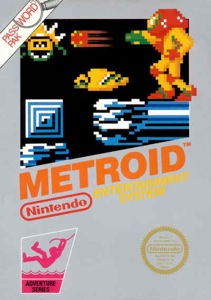 """Metroid boxart"" by Source. Licensed under Fair use via Wikipedia - https://en.wikipedia.org/wiki/File:Metroid_boxart.jpg#/media/File:Metroid_boxart.jpg"