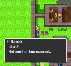 not another homosexual