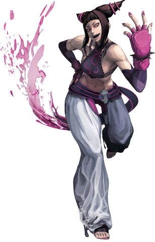Fighter Juri Han Street Juri Han