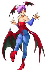 Lilith Image credit http://capcom.wikia.com/wiki/Lilith?file=Darkstalkers3Lilith.png