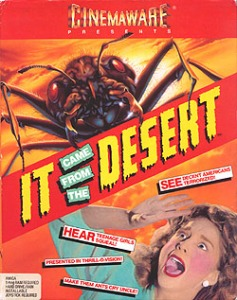 Box art Image credit: https://en.wikipedia.org/wiki/It_Came_from_the_Desert