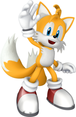 Tails Image credit https://en.wikipedia.org/wiki/File:Sonicchannel_tails_cg.png