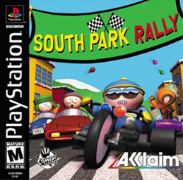 """South Park Rally PS"" by Source. Licensed under Fair use via Wikipedia - https://en.wikipedia.org/wiki/File:South_Park_Rally_PS.jpg#/media/File:South_Park_Rally_PS.jpg"
