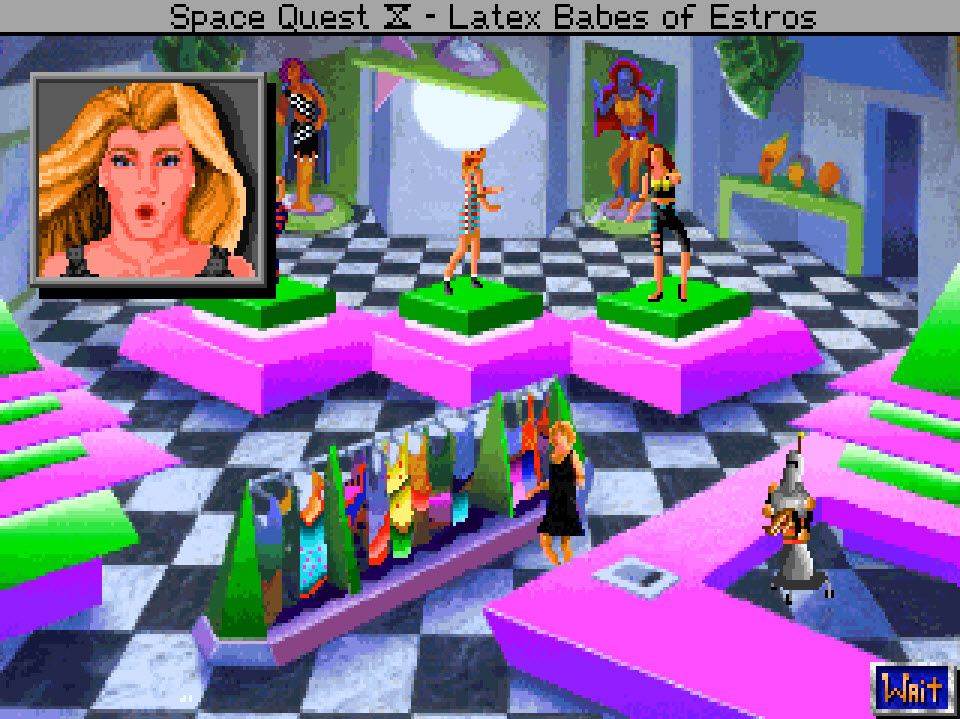 Cross Dressing In Space Quest Iv Lgbtq Video Game Archive