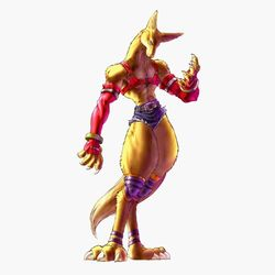 Animal form Image credit http://bloodyroar.wikia.com/wiki/Hans_the_Fox?file=FoxAnimalBR.jpg