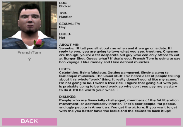 Image Credit: http://vignette4.wikia.nocookie.net/gtawiki/images/b/b6/FrenchTomProfile.png/revision/latest?cb=20130718112604