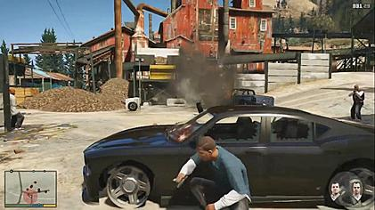 """Grand Theft Auto V combat"" by Source. Licensed under Fair use via Wikipedia - https://en.wikipedia.org/wiki/File:Grand_Theft_Auto_V_combat.jpg#/media/File:Grand_Theft_Auto_V_combat.jpg"