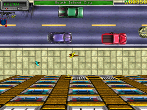 Screenshot from Grand Theft Auto (1997) https://en.wikipedia.org/wiki/File:GTA1_PC_in-game_screenshot.png