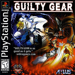 """Guilty Gear Coverart"" by Source. Licensed under Fair use via Wikipedia - https://en.wikipedia.org/wiki/File:Guilty_Gear_Coverart.png#/media/File:Guilty_Gear_Coverart.png"