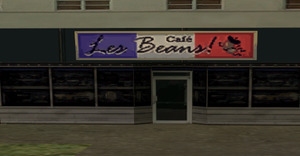 Les Beans Cafe Image credit http://gta.wikia.com/wiki/Les_Beans_Caf%C3%A9