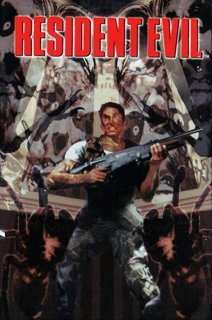 """Resident Evil 1 cover"" by Source. Licensed under Fair use via Wikipedia - https://en.wikipedia.org/wiki/File:Resident_Evil_1_cover.png#/media/File:Resident_Evil_1_cover.png"