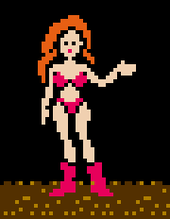 Samus in bikini Image credit http://thelearnedfangirl.com/2014/03/m-is-not-for-male-the-legacy-of-samus-aran/