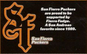SF Packers Advertisement Image credit http://gta.wikia.com/wiki/San_Fierro_Packers?file=SanFierroPackers-GTASA-advert.jpg