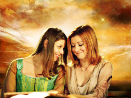 Tara and Willow Image credit http://sosogay.co.uk/2013/love-and-marriage-in-buffy-the-vampire-slayer-willow-and-tara/