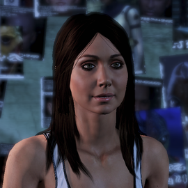 Diana Allers. Image credit http://masseffect.wikia.com/wiki/Diana_Allers?file=ME3_Diana_Allers.png