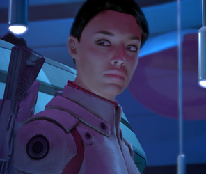 Ashley Williams. Image credit http://masseffect.wikia.com/wiki/Ashley_Williams?file=Ashley_Character_Box.png