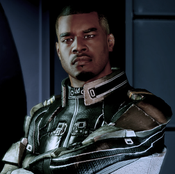 Jacob Taylor. Image credit http://masseffect.wikia.com/wiki/Jacob_Taylor?file=Jacob_Character_Box.png