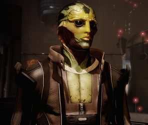 Thane Krios. Image credit http://masseffect.wikia.com/wiki/Thane_Krios?file=Thane_Character_Box.png