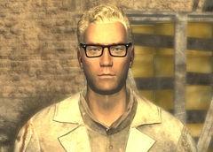 Image credit http://fallout.wikia.com/wiki/Arcade_Gannon?file=Arcade_Gannon.jpg
