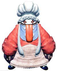 Image credit http://finalfantasy.wikia.com/wiki/Quina_Quen?file=Quina_Quen_character.jpg