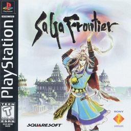 """SaGa Frontier US box art"". Licensed under Fair use via Wikipedia - https://en.wikipedia.org/wiki/File:SaGa_Frontier_US_box_art.jpg#/media/File:SaGa_Frontier_US_box_art.jpg"