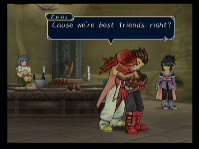 Gay tales of symphonia