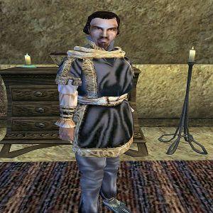 Image of Crassius Curio: http://www.uesp.net/w/images/thumb/d/de/MW-npc-Crassius_Curio.jpg/600px-MW-npc-Crassius_Curio.jpg