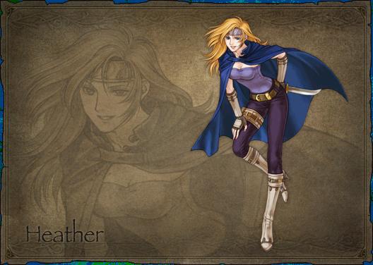 Heather In Fire Emblem Radiant Dawn Lgbtq Video Game Archive