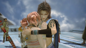 Fang and Vanille in Final Fantasy III | LGBTQ Video Game Archive