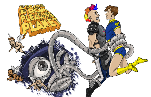 escape from pleasure planet game image