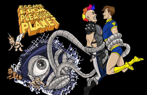escape from pleasure planet game image